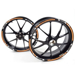 Adesivo cerchio ruota KTM 125 RC Duca Bianco