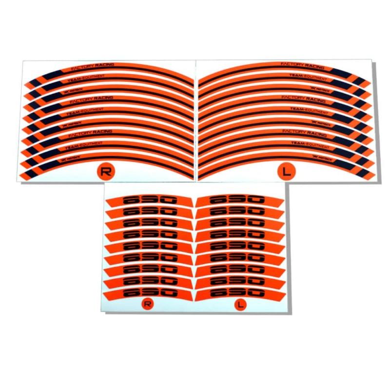 Adesivo cerchi Hypermotard 939 Rosso