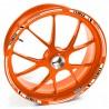 Adesivo cerchio ruota KTM 200 RC Duca d'Arancia