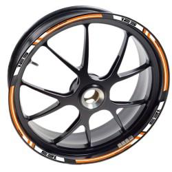 Adesivo cerchio ruota KTM RC 390 Duke Arancione