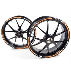 Adesivo cerchio ruota KTM 990 Supermoto R T Arancione