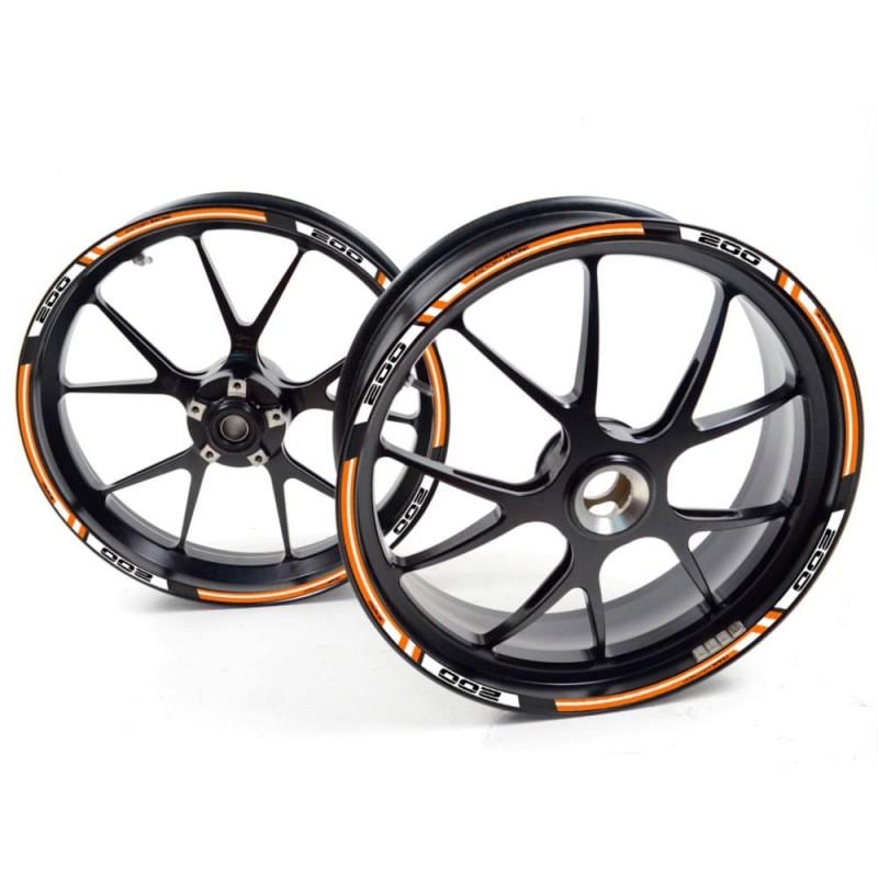 Наклейки обода KTM 990 супермото R T Оранжевый