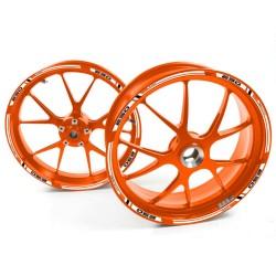 Naklejki obrzeże 1290 Super Duke G Pomarańczowy